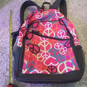 Girls Old Navy Peace backpack
